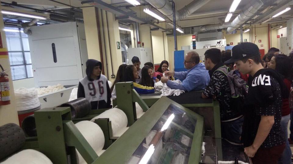 Visita SENAI Textil 3 - 2017