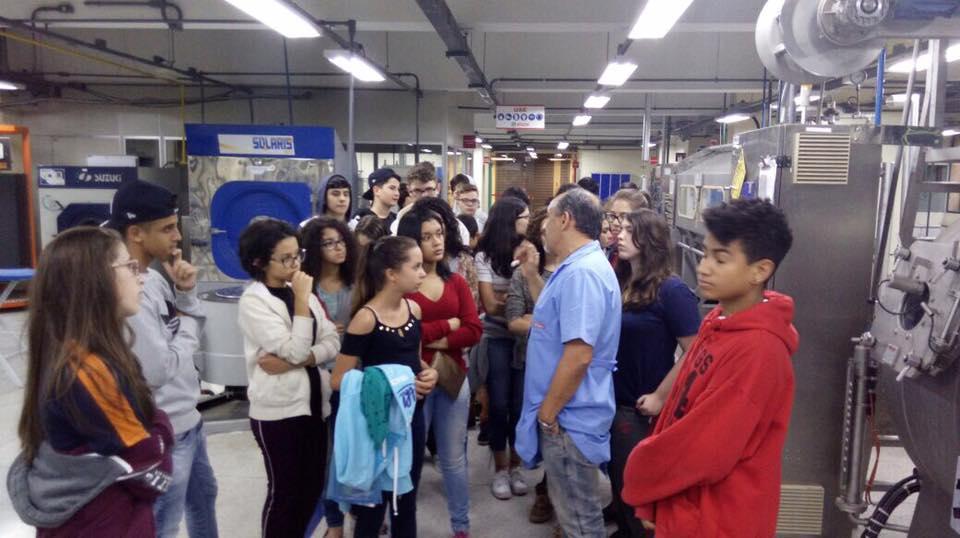 Visita SENAI Textil 7 - 2017
